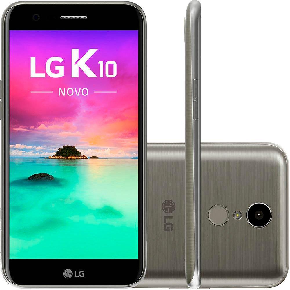 Celular Lg K10 Novo M250Ds Oc|32Gb|2Gb Ram|4G|13Mp|5,3 Hd|Titanium