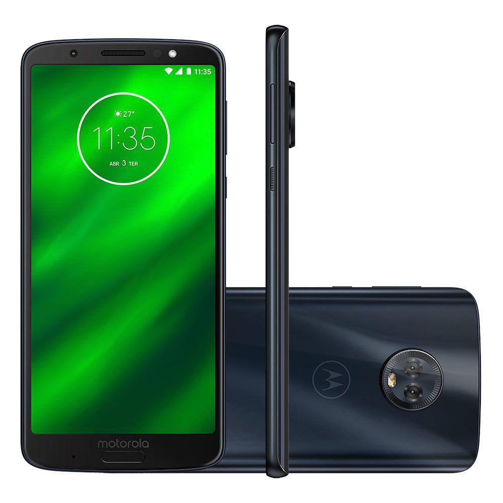 Celular Moto G6 Plus Xt1926 Oc| 4Gbram| 64Gb| 5,9| 4G| 12Mp| Indigo