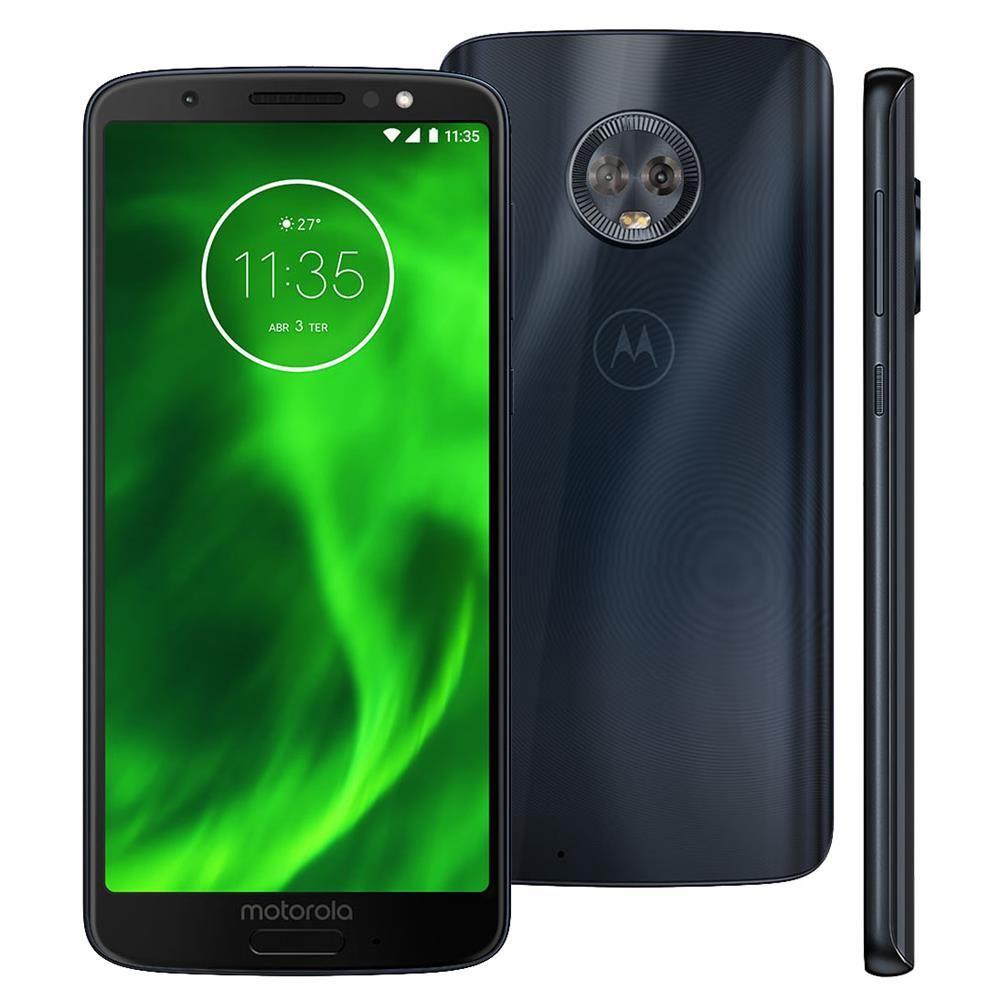 Celular Moto G6 Xt1925-3 Oc| 3Gbram| 32Gb| 5,7| 4G| 12Mp| Indigo