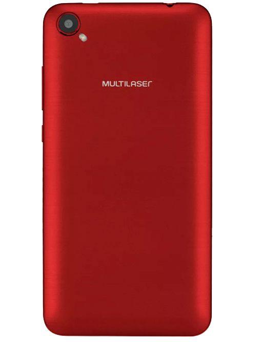 Celular Multilaser Ms50L Qc|8Gb|3G|1Gb Ram|Preto/Vermelho|Nb708