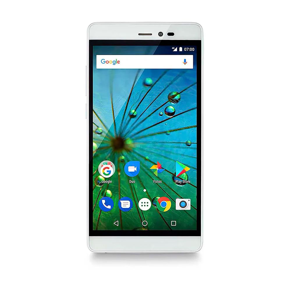 Celular Multilaser Ms60F 5.5 Quadcore 16Gb + Sd16Gb 4G 1Gb Ram Nb710 Drd| Branco