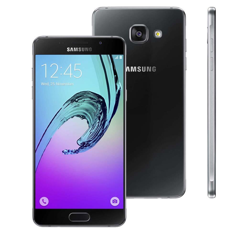 Celular Samsung Galaxy A5 2016 Duos 16Gb 4G Sm-A510M/Ds Preto Desbloq