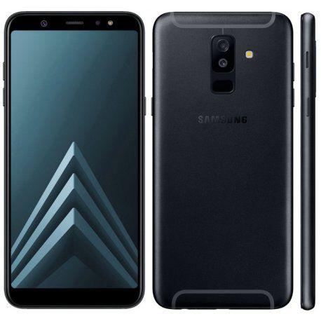 Celular Samsung Galaxy A6+ Sm-A605Gn/Ds Oc1.8/64Gb/4Gbram/Front24Mp/6/Preto