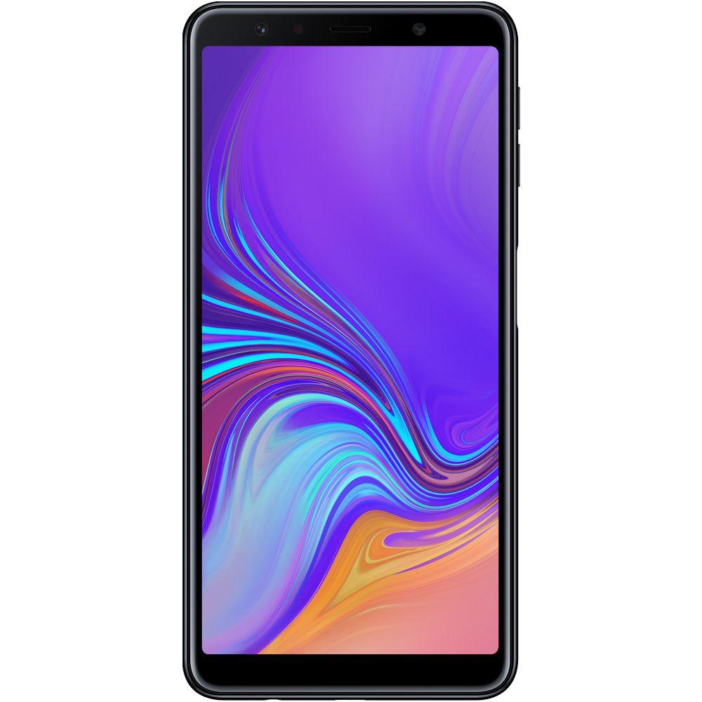 Celular Samsung Galaxy A7 Sm-A750G| Ds Oc| 128Gb| 4Gbram| 6| 4G| 24Mp| Preto
