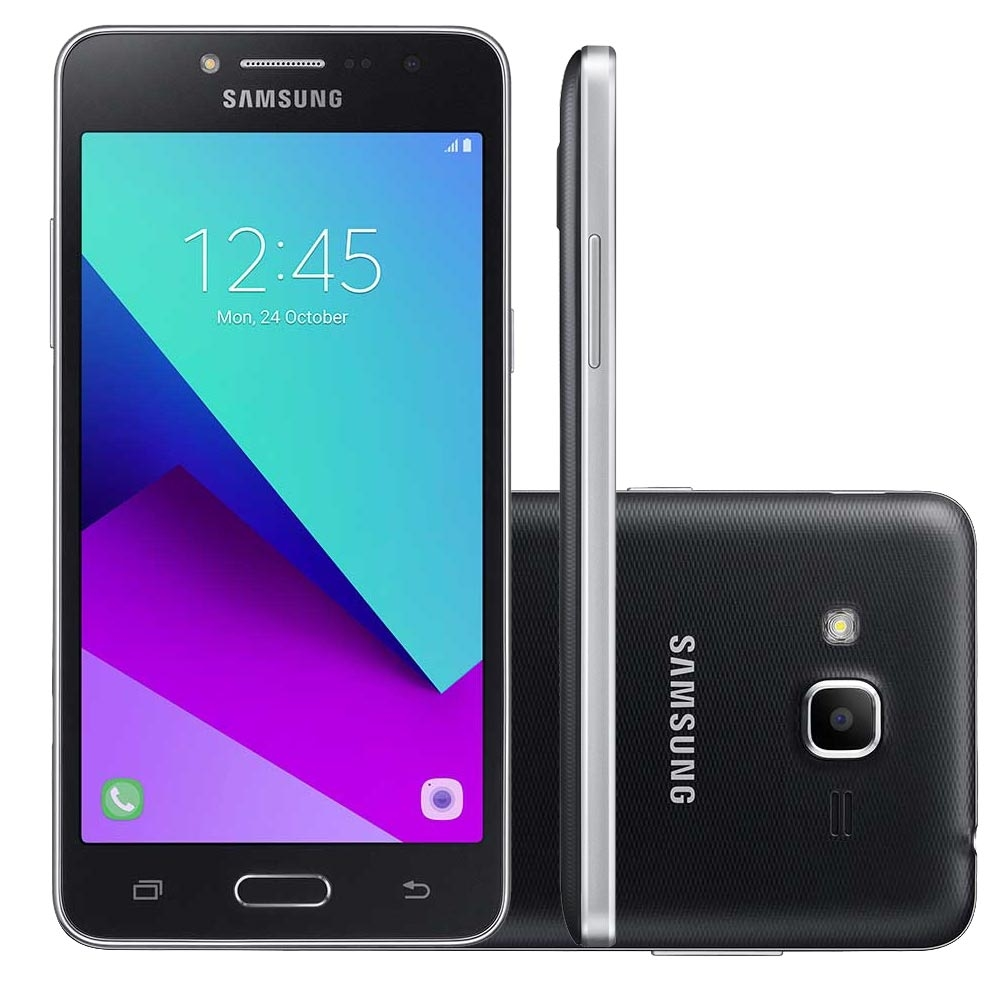 Celular Samsung Galaxy J2 Prime Sm-G532Mt Qc1.4 Ghz| 16Gb| Tv| 4G| 8Mp| Preto