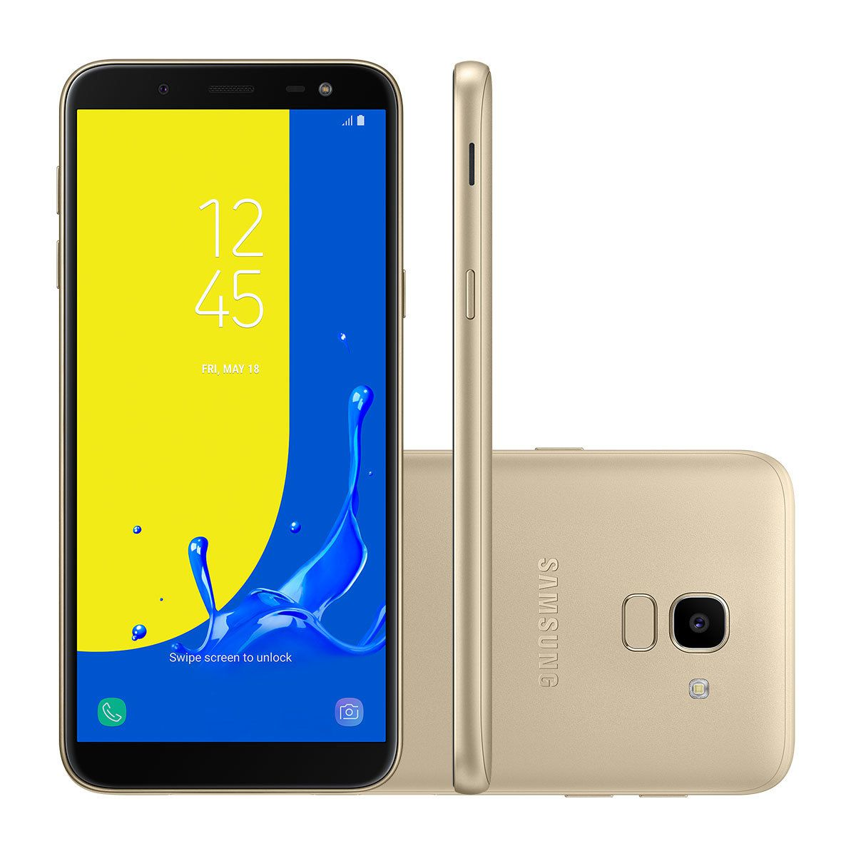 Celular Samsung Galaxy J6 Sm-J600Gt| Ds Oc1.6| 32Gb| 2Gbram| 4G| 5,6| Tv| 13Mp| Dourado