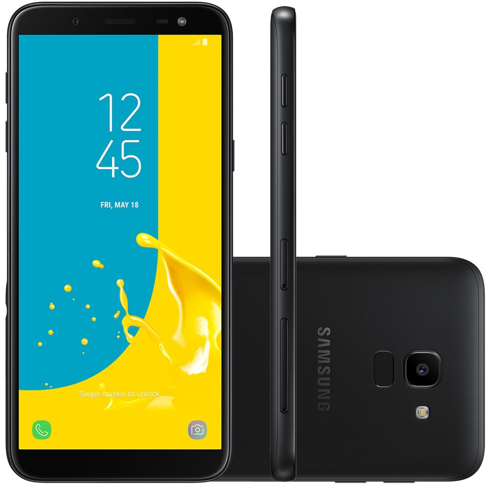 Celular Samsung Galaxy J8 Sm-J810M| Ds Oc1.6| 64Gb| 4Gbram| 6| 16Mp+5Mp| Preto