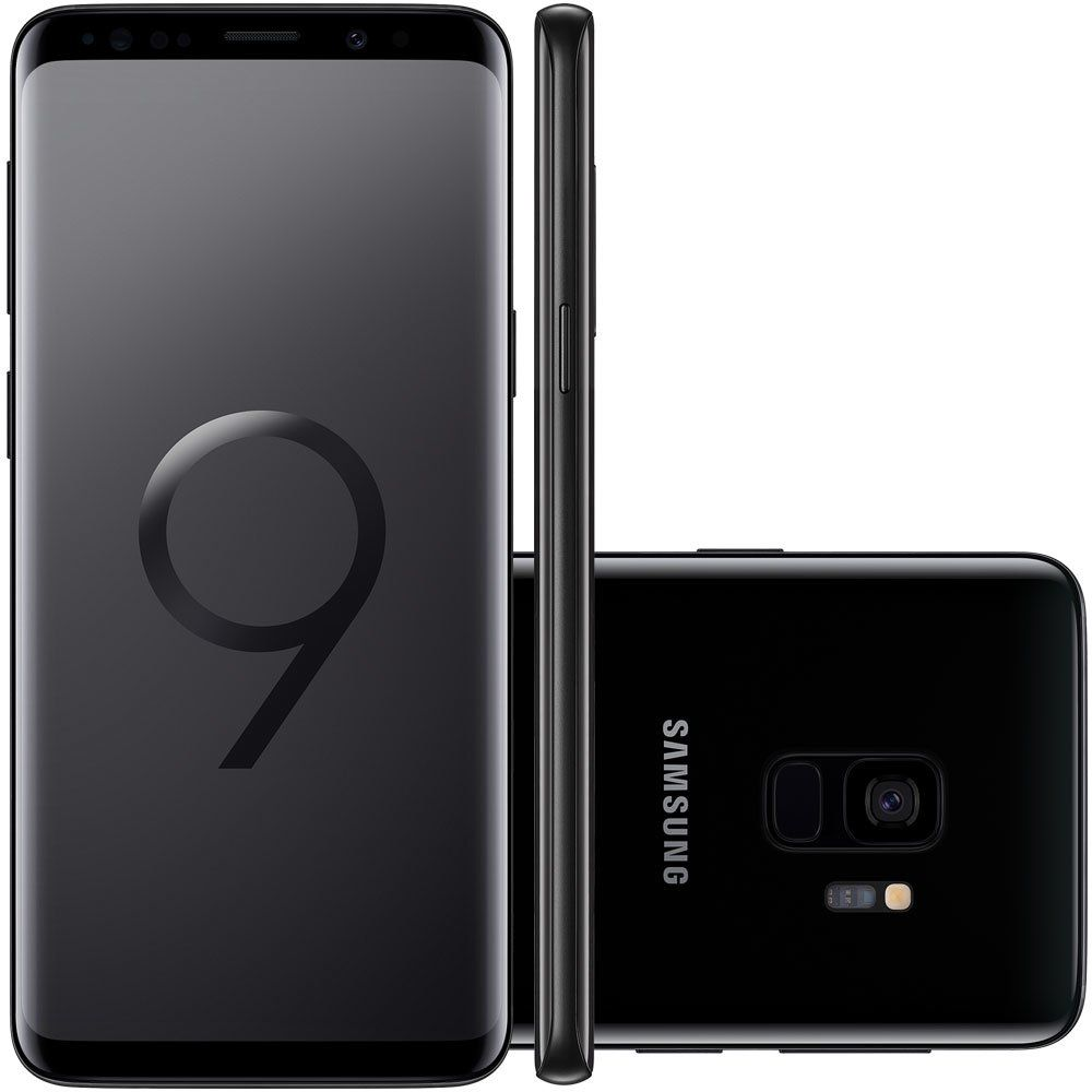 Celular Samsung Galaxy S9 Sm-G9600| Ds 128Gb| 4Gbram| 5,8Quad-Hd| 4G| 12Mp| Preto