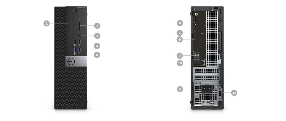 Cpu Dell Optiplex 3040 I3-6100T 3.2Ghz/4Gb/500Gb/W10Pro