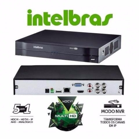 Dvr Hd Intelbras Mhdx 1008