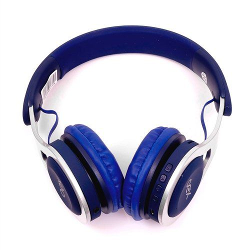 Fone De Ouvido Headset Bluetooth| Fm Oex Hs306 Drop Azul