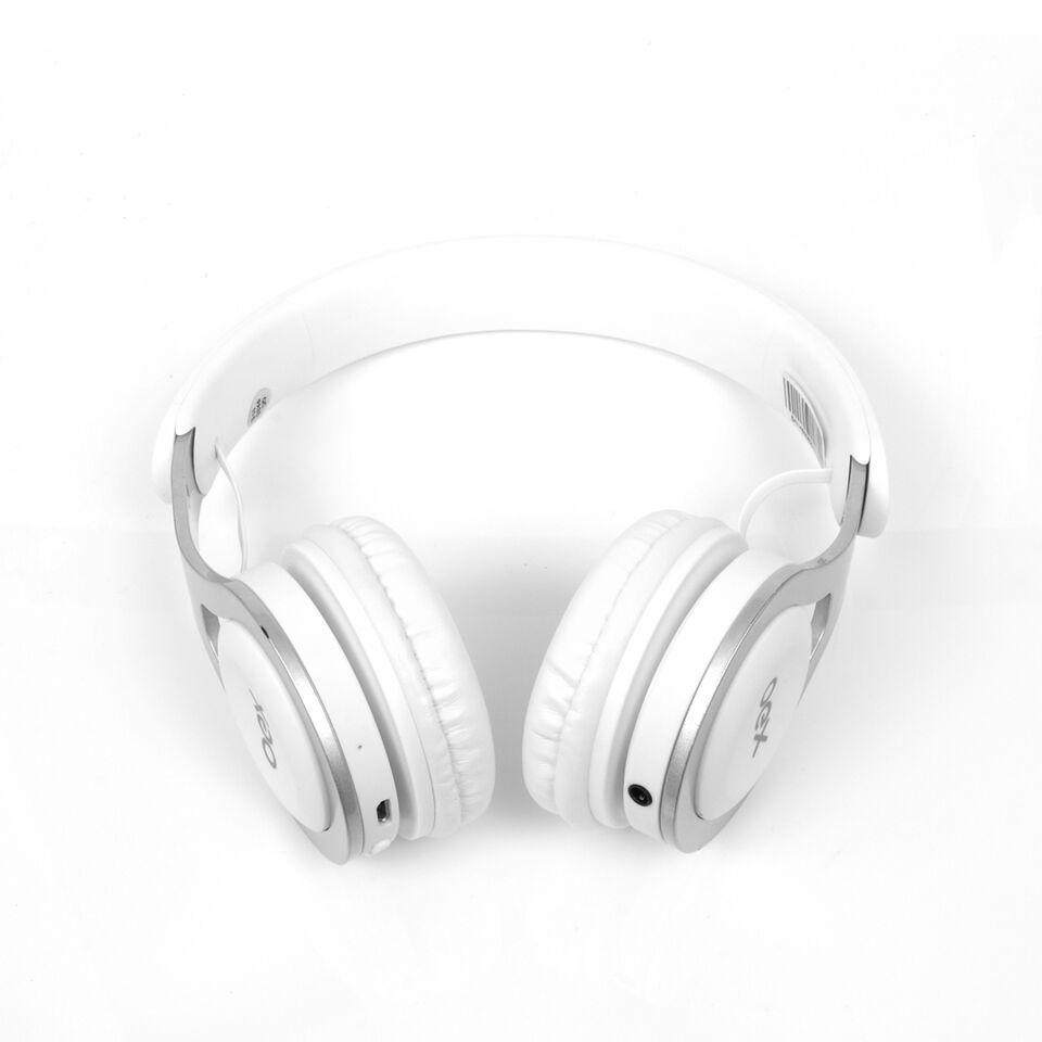 Fone De Ouvido Headset Bluetooth| Fm Oex Hs306 Drop Branco
