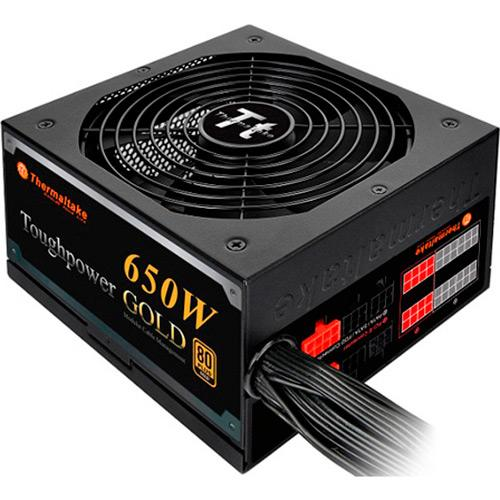FONTE ATX 650W REAIS THERMALTAKE TOUGHPOWER MODULAR 80GOLD