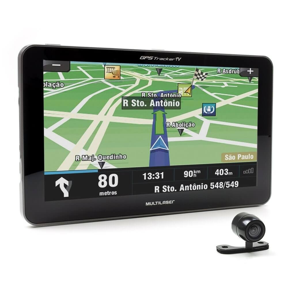 Gps Tracker Iii Multilaser 7|Av In|Tv|Fm Gp039