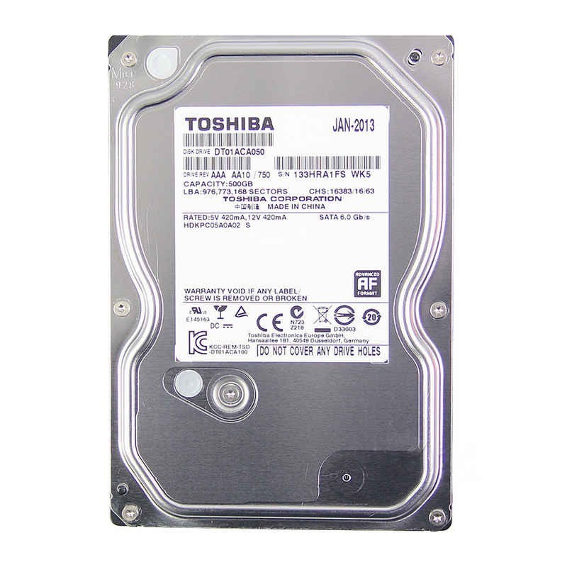 Hd 2Tb Sata Toshiba  6Gb| S 7200Rpm