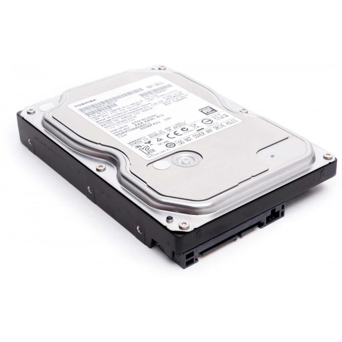 Hd 2Tb Sata Toshiba  6Gb| S 7200Rpm