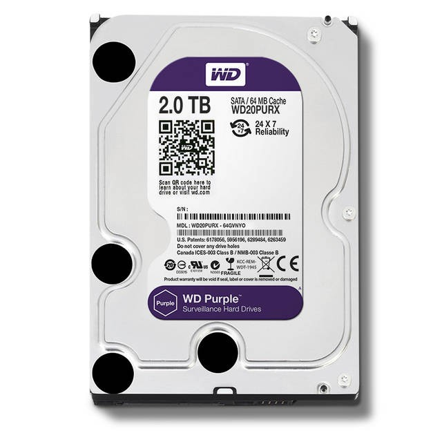 Hd 2Tb Sata Western Digital Purple