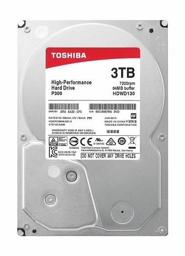 Hd 3Tb Sata P300 Toshiba Box