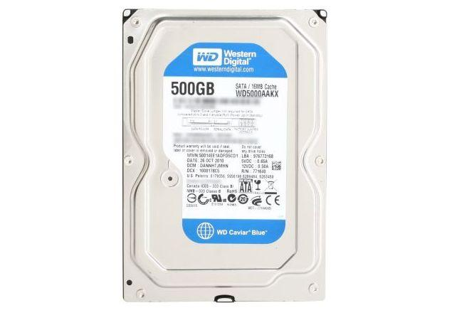 Hd 500Gb Sata 3 Western Digital 7200Rpm