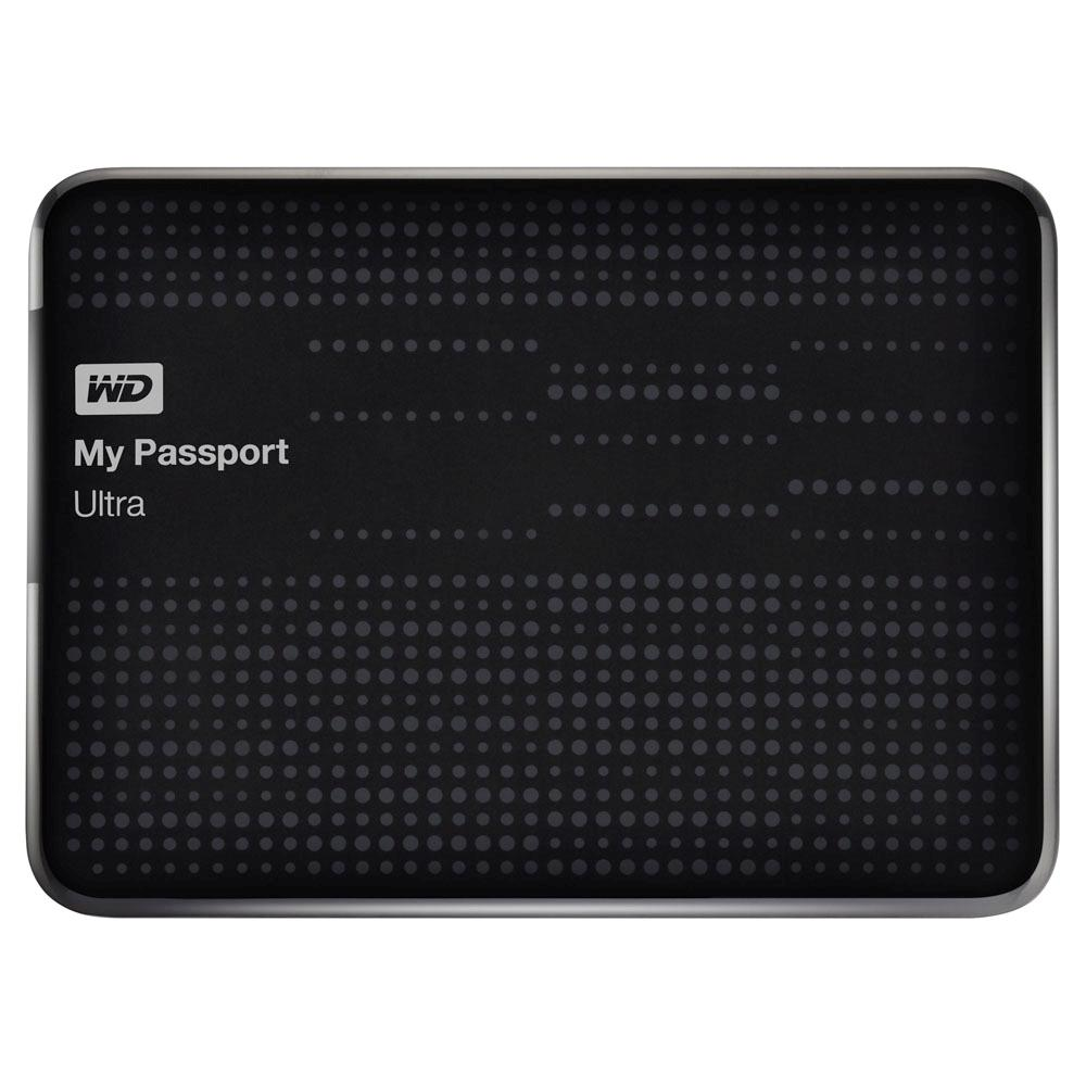 Hd Externo 1Tb My Passport Ultra Western Digital Preto Usb3
