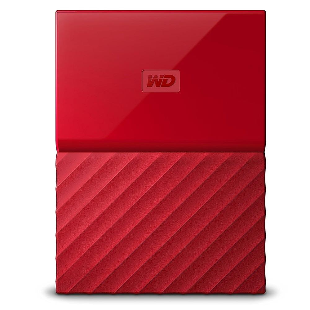 Hd Externo 1Tb Usb 3.0 Western Digital Vermelho