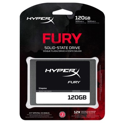 Hd Ssd 120Gb Kingston Hyperx Fury