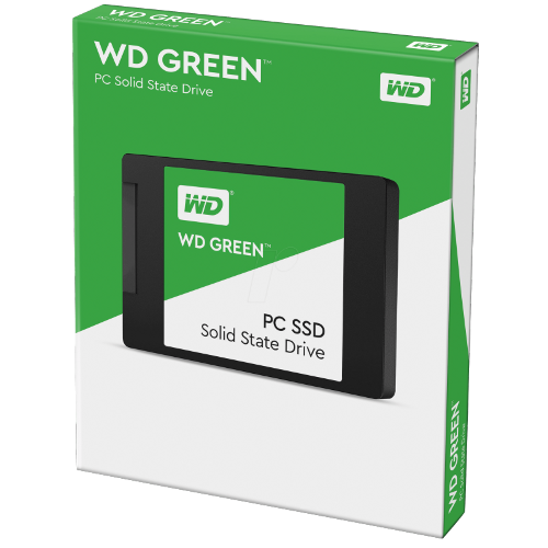 Hd Ssd 120Gb Wd Green Sata 3