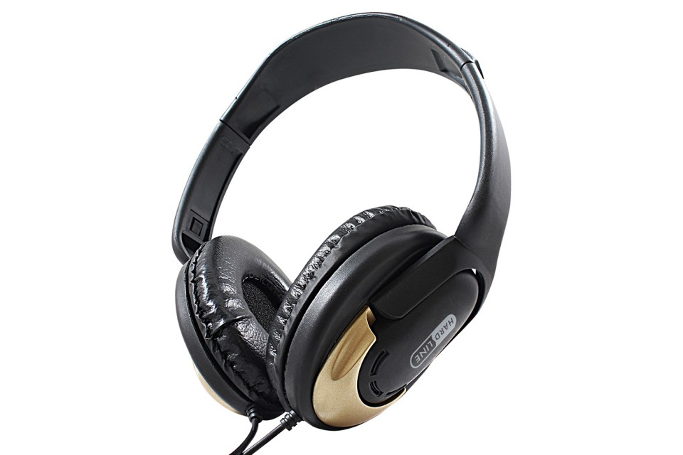 Headphone Hp350 Gold Hardline
