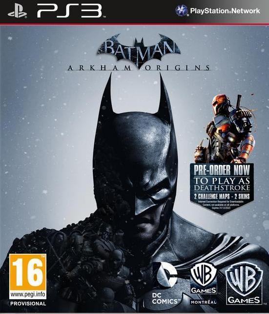 Jogo Ps3 Batman Arkham Origins