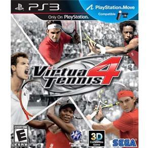 Jogo Ps3 Virtua Tennis 4