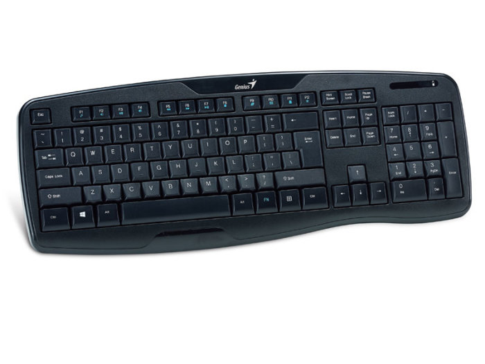 Kit Teclado E Mouse Wireless Kb-8000X Usb 2.4Ghz Genius