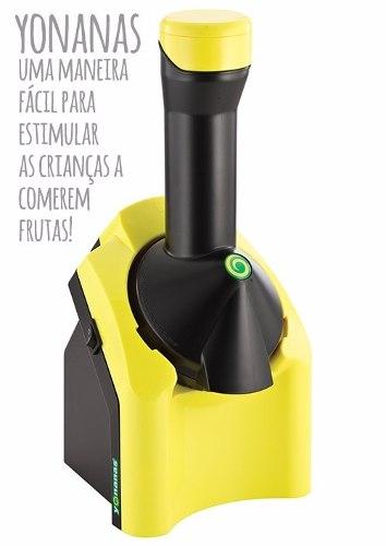 Maquina De Sorvete Yonanas - Amarela