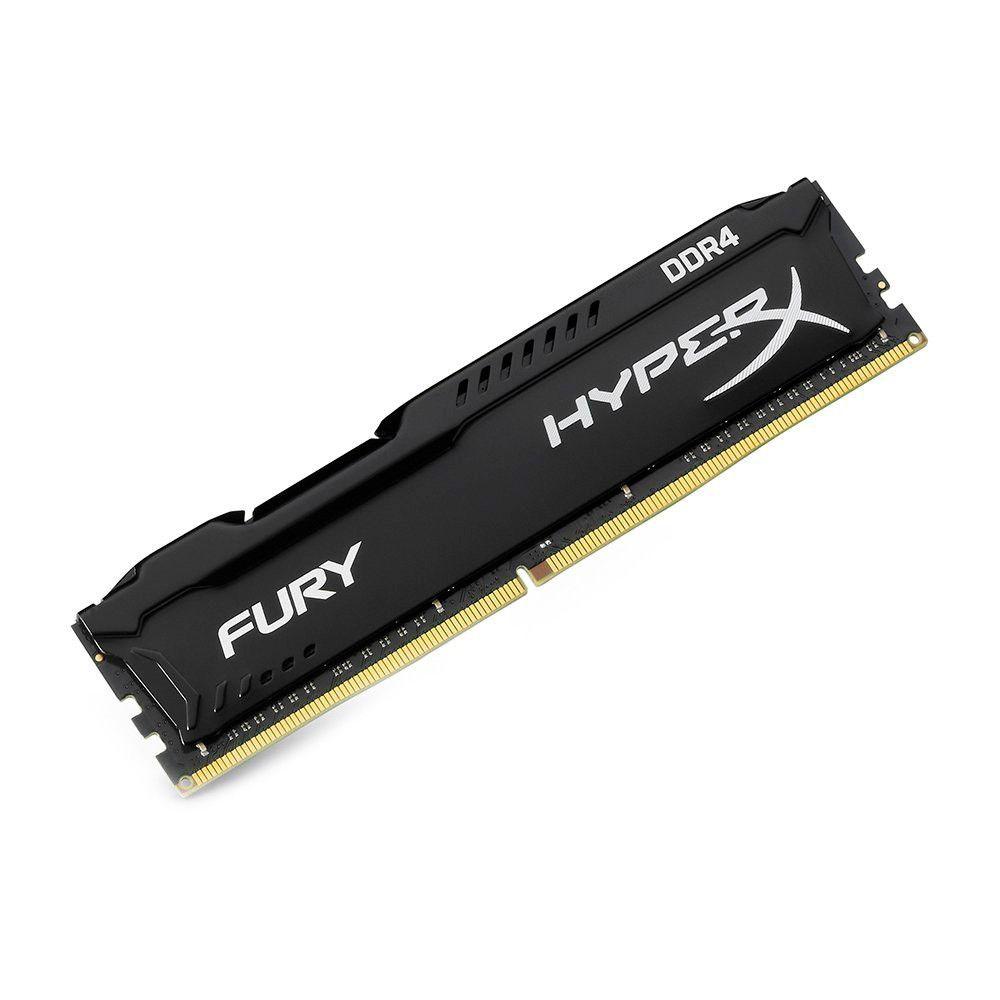 Memoria 8Gb Ddr4 2400 Hyperx Fury Preta