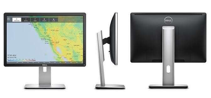 Monitor Dell 19.5 P2016 - Vga / Displayport