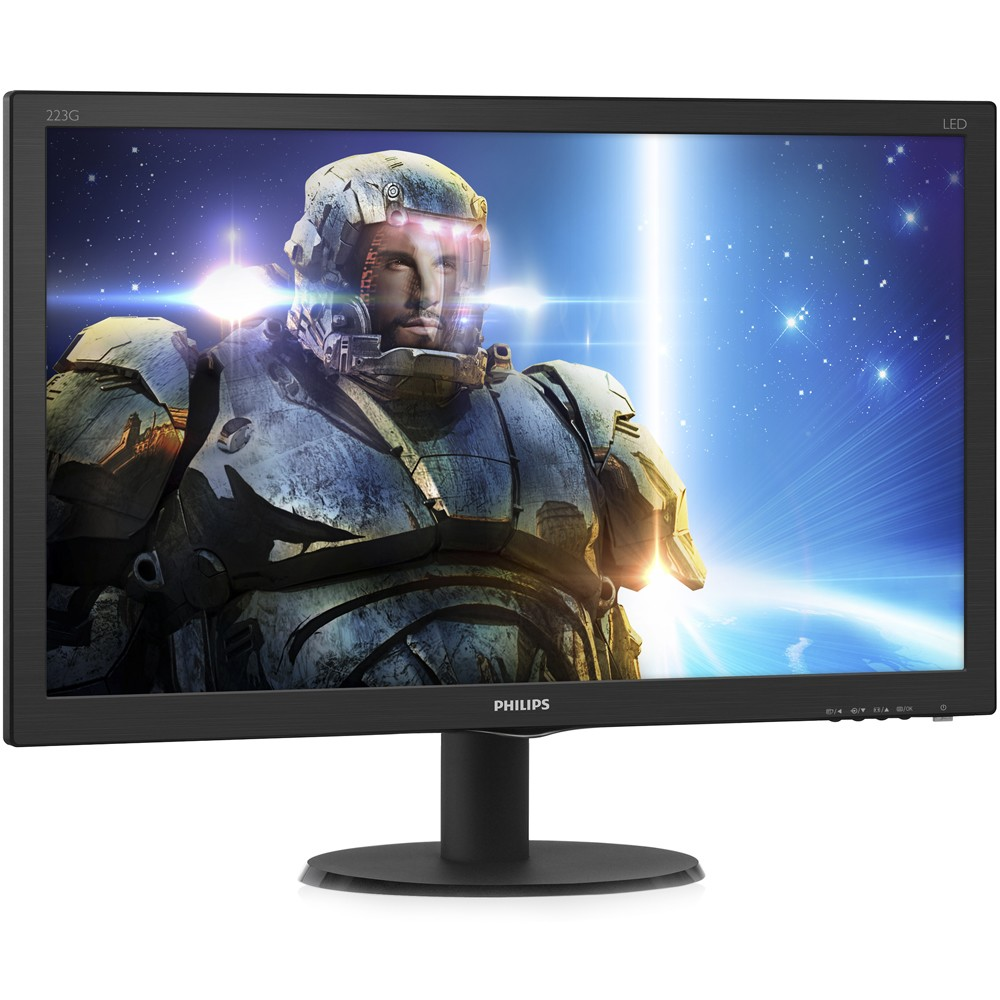 MONITOR LED 21.5 PHILIPS 223G5LHSB FULL HD/HDMI PRETO