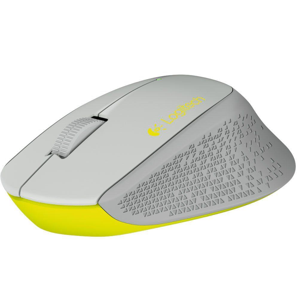 Mouse Mini Wireless Logitech M280 Cinza