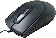 Mouse Ps/2 Preto K-Mex  A133