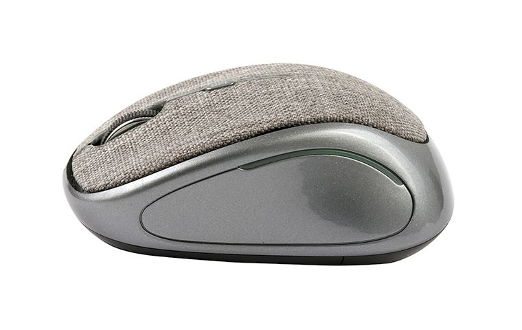 Mouse Sem Fio Oex Ms601 Tiny Cinza