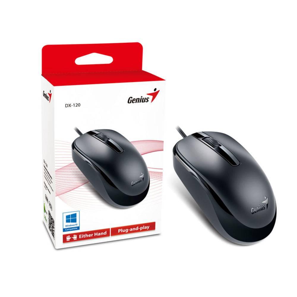 Mouse Usb Genius Dx-110 Preto