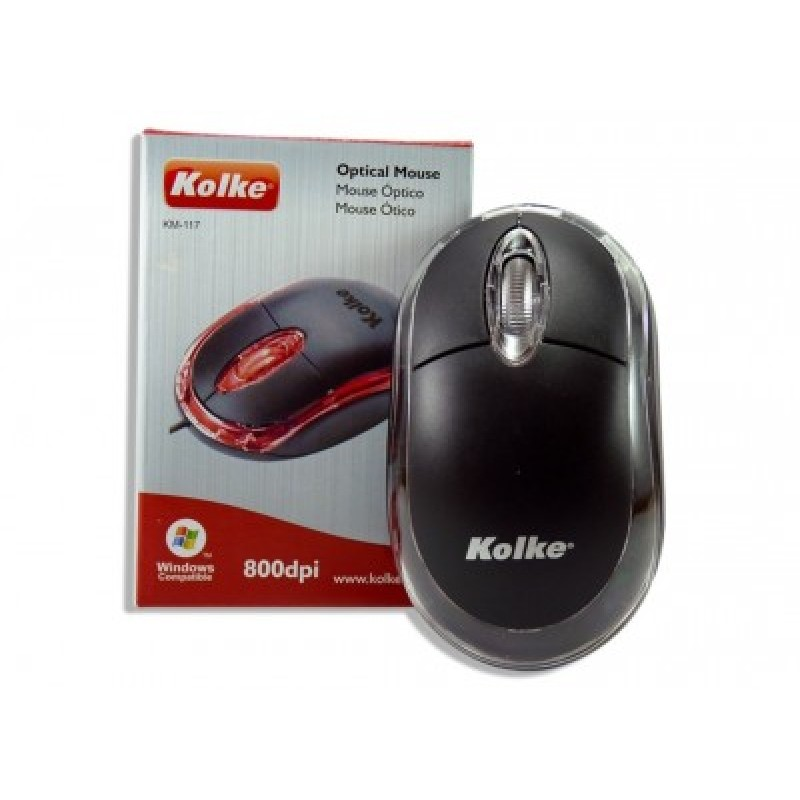 Mouse Usb Optico Preto