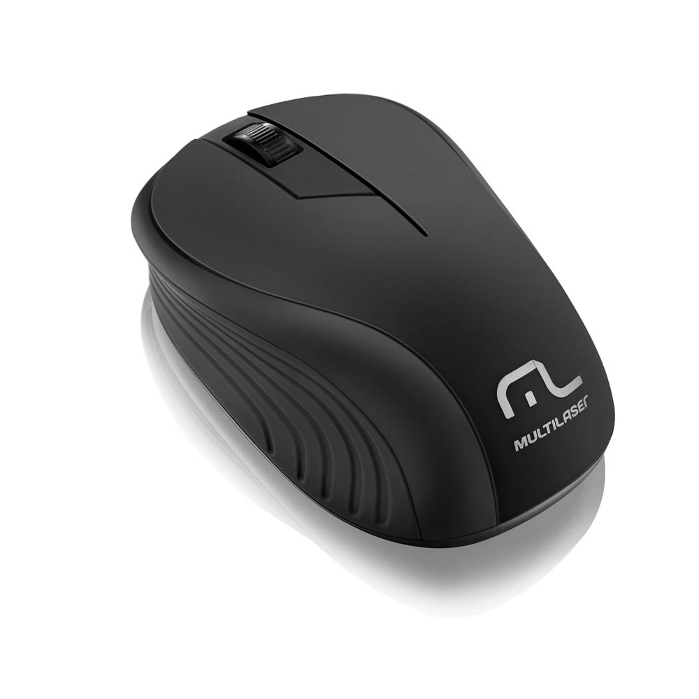 Mouse Usb Wireless 2.4Ghz Mo212 Preto Multilaser