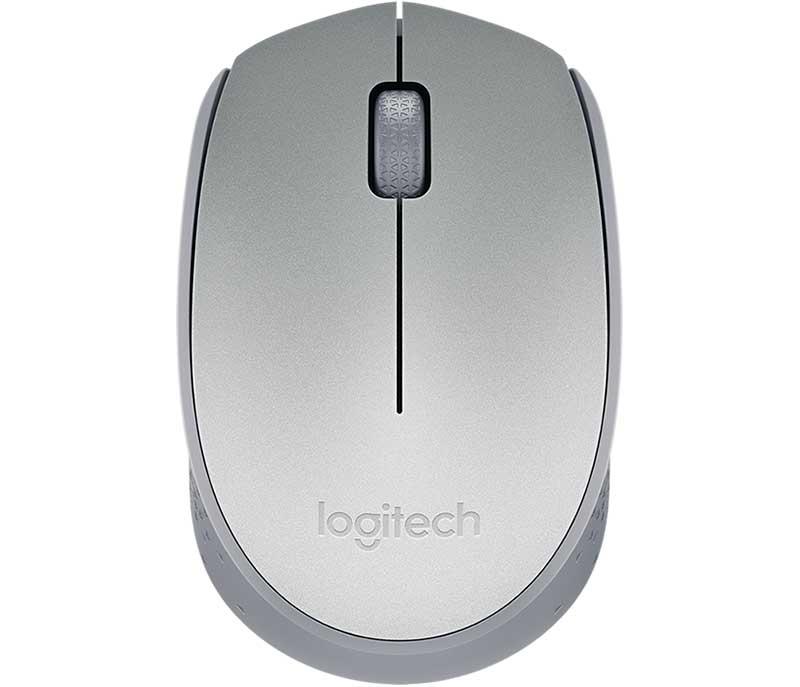 Mouse Wireless Logitech M170 Prata