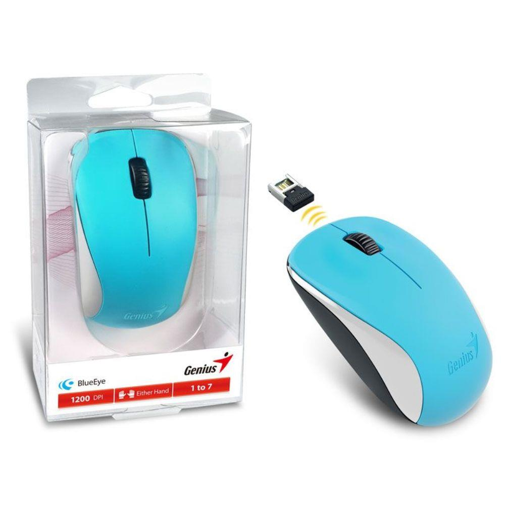 Mouse Wireless Nx-7000 Blueeye Azul 2,4 Ghz Genius