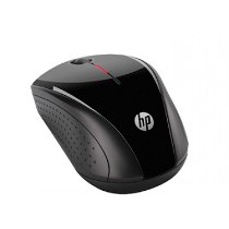 Mouse Wireless Prata/Pto X3000 Hp Usb