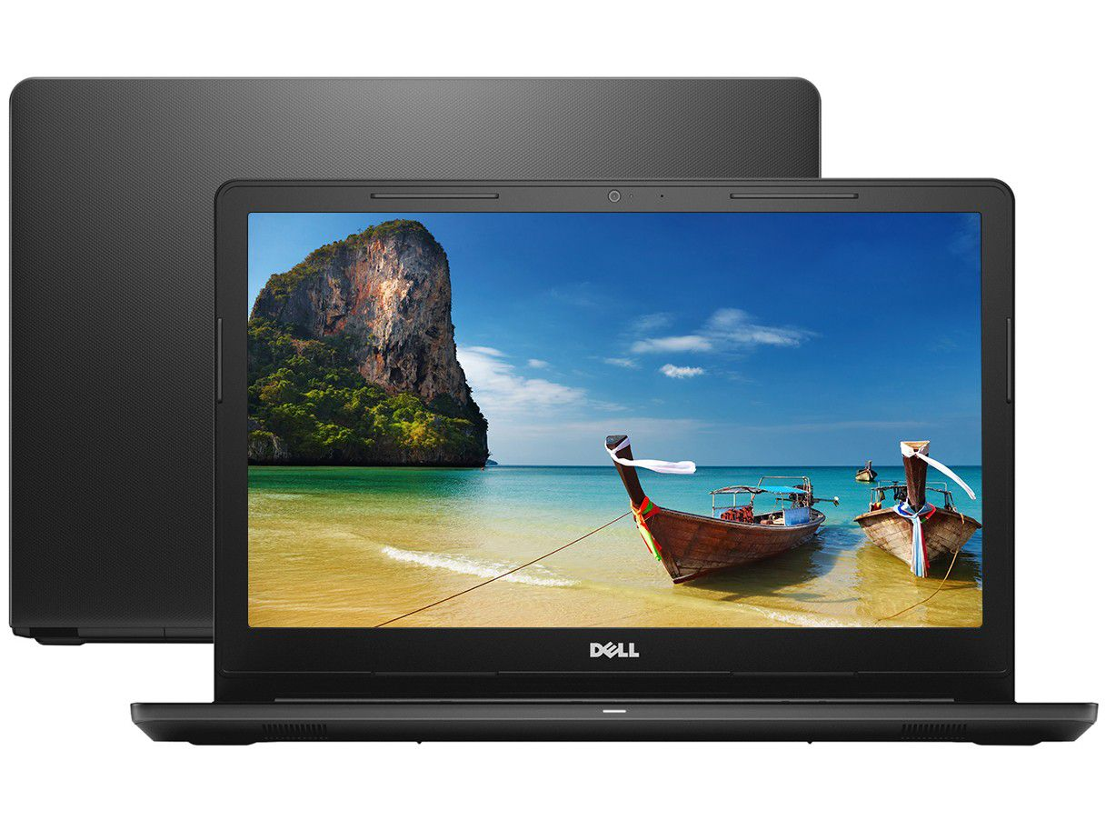 Nb Dell Inspiron 3567 I3-6006U 2.4Ghz| 1Tb| 4Gb| 15| W10Home| Preto