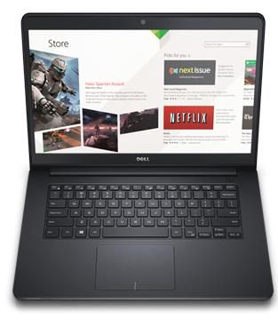 Nb Dell Inspiron 5458 I3-5005U 2.0|1Tb|4Gb|Cam|14|W10Home|Preto Ol