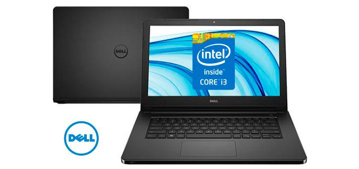 Nb Dell Inspiron 5458 Core I5-5200U 2.2| 1Tb| 8Gb| 14| W10Home| Preto