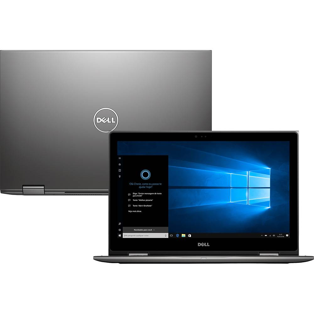 Nb Dell Inspiron 5578 Core I7-7500/1Tb/8Gb/15Touch/W10Pro/Preto
