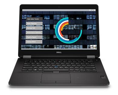 Notebook Dell Latitude 14 7470 I5-6300U|8Gb|Ssd256|Touch|W10Pro Dw W7