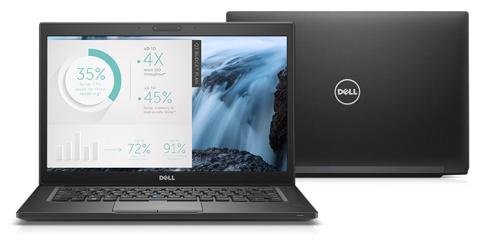 Nb Dell Latitude 7480 I5-7300U| 8Gb| Ssd128Gb| 14| W10Pro| Preto| Us